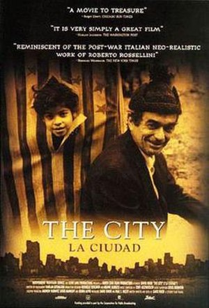 The City (1998 film) - Theatrical release poster
