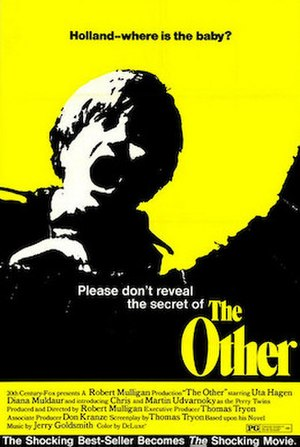 The Other (1972 film) - Theatrical release poster