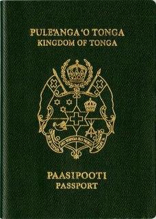 Tongan passport