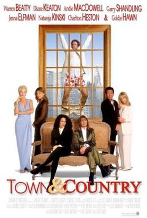 Town & Country (film) - Theatrical release poster