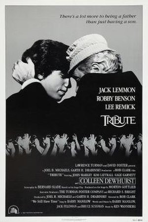 Tribute (1980 film) - Film poster