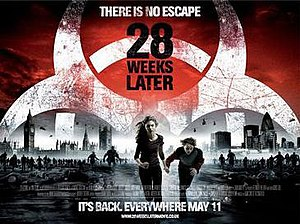 28 Weeks Later - Theatrical release poster