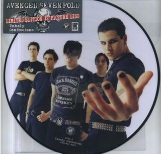 Unholy Confessions Avenged Sevenfold song