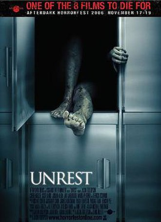 Unrest (2006 film) - Image: Unrest latest poster 2