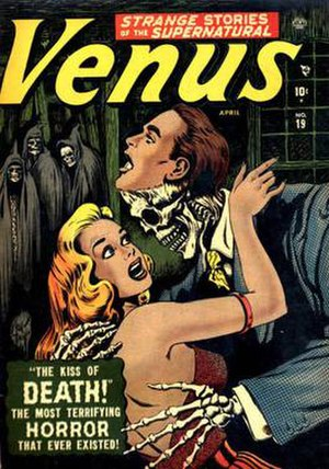 Venus (comic book) - Venus issue 19 (1952), cover art Bill Everett