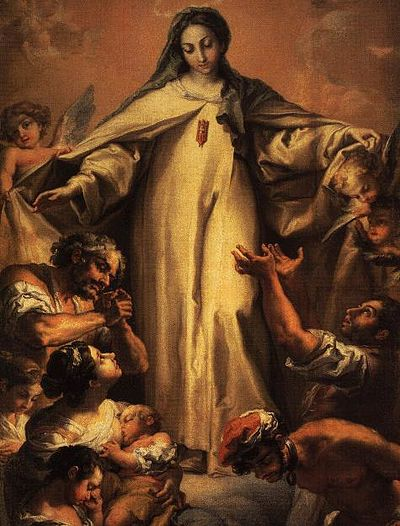 Our Lady of Mercy - From the Generalate of the Mercedarian Order Virgin of Mercy.JPG