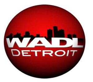 This is a logo owned by Adell Broadcasting for...