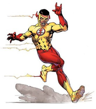 Wallace West (DC Comics) - Wallace West, the fourth Kid Flash in the DC Rebirth era. Art by Jim Lee.