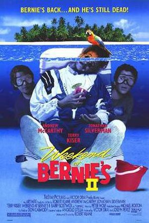 Weekend at Bernie's II - Theatrical release poster