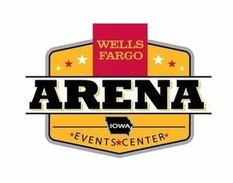 Wells Fargo Arena (Des Moines, Iowa) - Image: Wells Fargo Arena