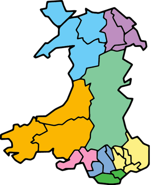 Local government in Wales - Proposed 8 local authorities model