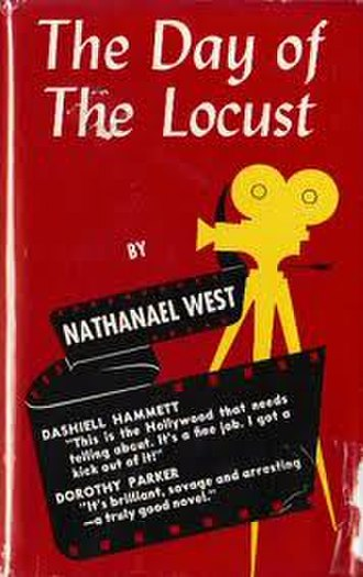 The Day of the Locust - 1939 first edition cover