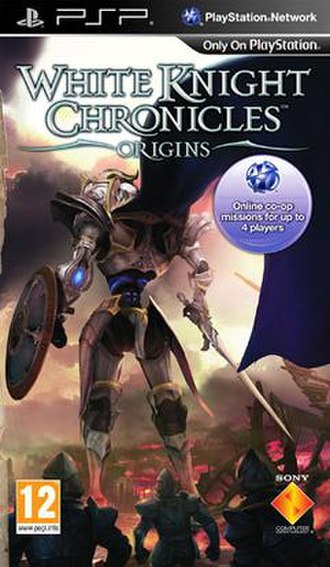 White Knight Chronicles: Origins - European box art