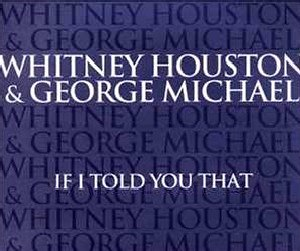 If I Told You That - Image: Whitney Houston & George Michael If I Told You That US Promo
