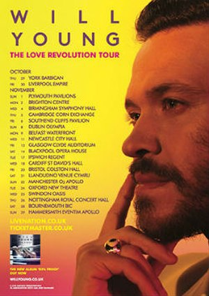 Love Revolution Tour - Image: Will Young 2015Tour Poster