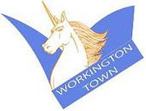 Workington Town - Image: Workington town alt logo