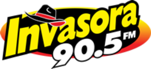 XHFL-FM (Sonora) - Image: XHFL La Invasora 90.5 logo