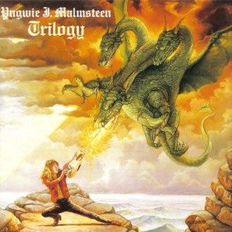 Trilogy (Yngwie Malmsteen album) - Image: Yngwie J Malmsteen Trilogy