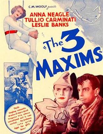 Three Maxims - Australian newspaper ad