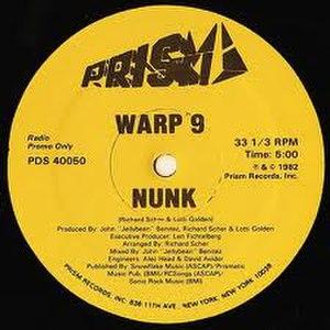 """Nunk (song) - Image: 12"""" Single """"Nunk"""" Warp 9"""