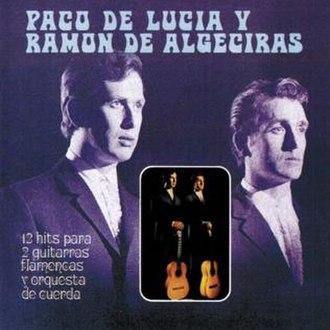12 Hits para 2 guitarras flamencas y orquesta de cuerda - Image: 12hitspara 2