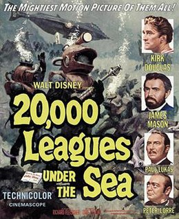 <i>20,000 Leagues Under the Sea</i> (1954 film) 1954 adventure film directed by Richard Fleischer