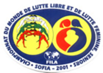 2001 World Wrestling Championships - Image: 2001 FILA Wrestling World Championships FS logo