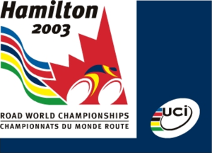 2003 UCI Road World Championships - Image: 2003 UCI Road World Championships logo