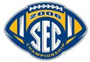 2006 SEC Championship Game - 2006 SEC Championship logo.