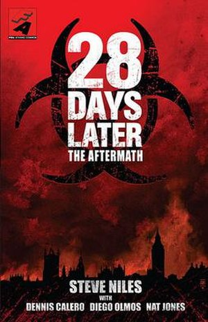 28 Days Later: The Aftermath - Cover of 28 Days Later: The Aftermath