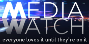 Media Watch (TV program) - Image: ABC Media Watch July 2013