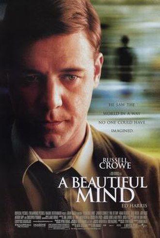 A Beautiful Mind (film) - Theatrical release poster
