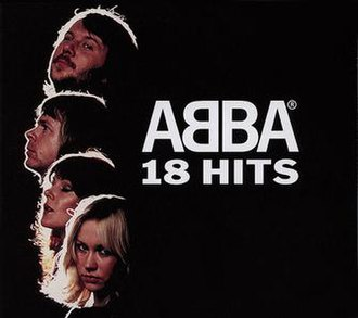 18 Hits - Image: Abba 18 hits cover