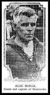 Alex McNab association football player and coach