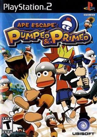 Ape Escape: Pumped & Primed - Image: Ape Escape Pumped Primed Cover