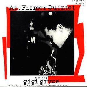 Art Farmer Quintet featuring Gigi Gryce - Image: Art Farmer Quintet featuring Gigi Gryce