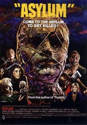 Asylum (1972 horror film) - Theatrical poster to Asylum (1972)