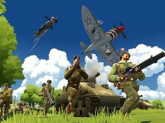 Battlefield Heroes - Battlefield Heroes featured classic Battlefield-gameplay with a variety of classes and vehicles.