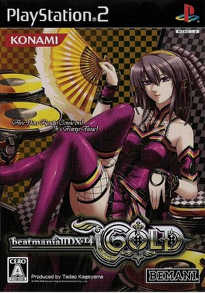 Beatmania IIDX 14: Gold - Titlescreen of the CS version