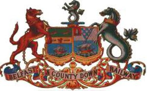 Belfast and County Down Railway - The Company's crest