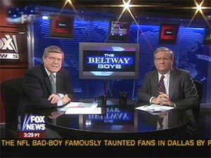 The Beltway Boys - Mort Kondracke (left) and Fred Barnes (right)