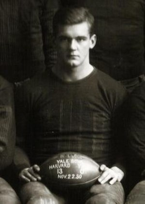 Ben Ticknor - Ben Ticknor, 1930 Harvard Official Team Photograph