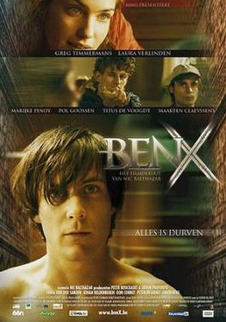 Ben X - Theatrical release poster