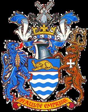 Beverley (borough) - The Arms of Beverley Borough Council