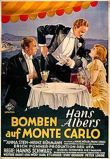 <i>Bombs on Monte Carlo</i> (1931 film) 1931 film