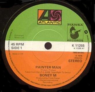 Painter Man - Image: Boney M. Painter Man (1979 single)