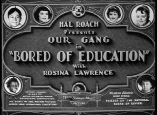 <i>Bored of Education</i> 1936 film