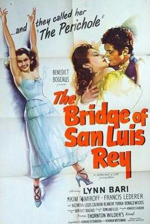 The Bridge of San Luis Rey (1944 film) - Theatrical release poster