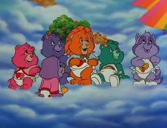 Care Bears Movie II: A New Generation - Image: CB cubs waiting on rainbow