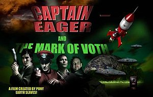 Captain Eager and the Mark of Voth - The first film ever shot in Cardoscope